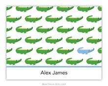 Preppy Personalized Stationery by Boatman Geller at Buggy Designs Alligator Lacoste