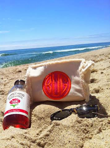 Monogram Beach Bag from Buggy Designs on Nantucket