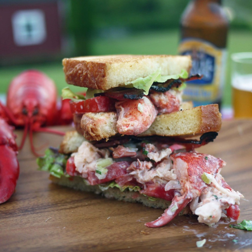Lobster BLT on Brioche