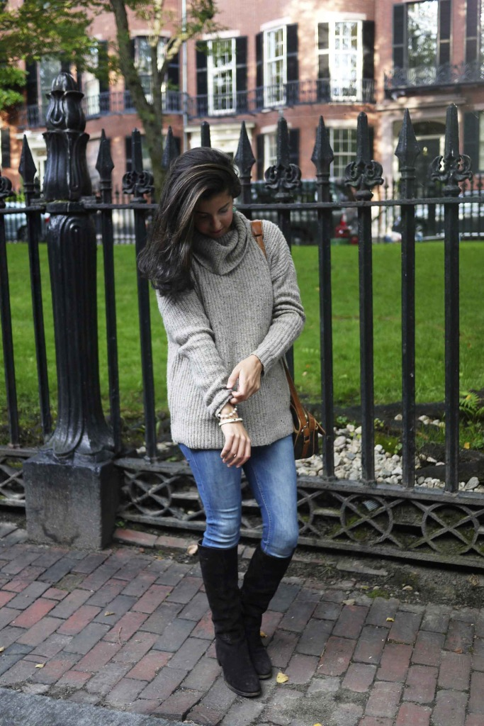 Joie Soft Turtleneck Cowlneck Sweater on Beacon Hill