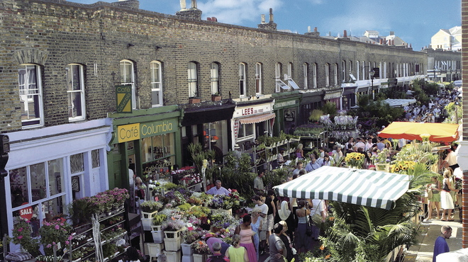 Columbia Road Flower Market Review