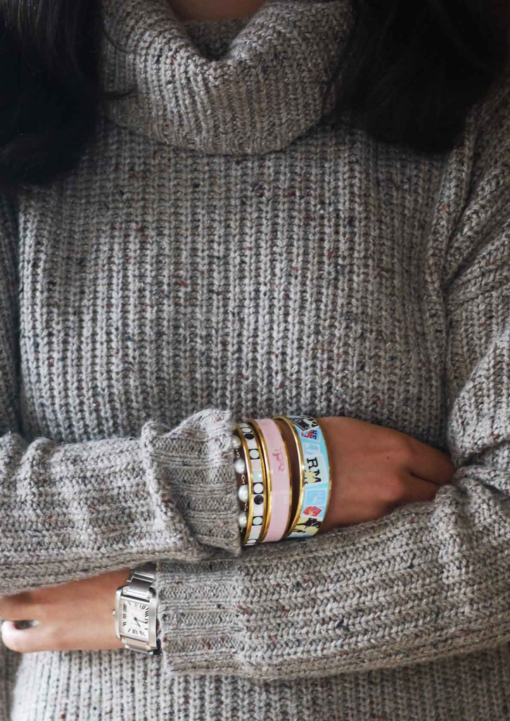 joie-soft-sweater-turtleneck-Cowlneck-hermes-bangles