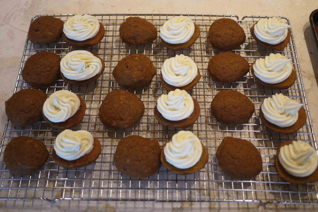 Pumpkin Whoopie Pies with Cream Cheese Frosting Recipe