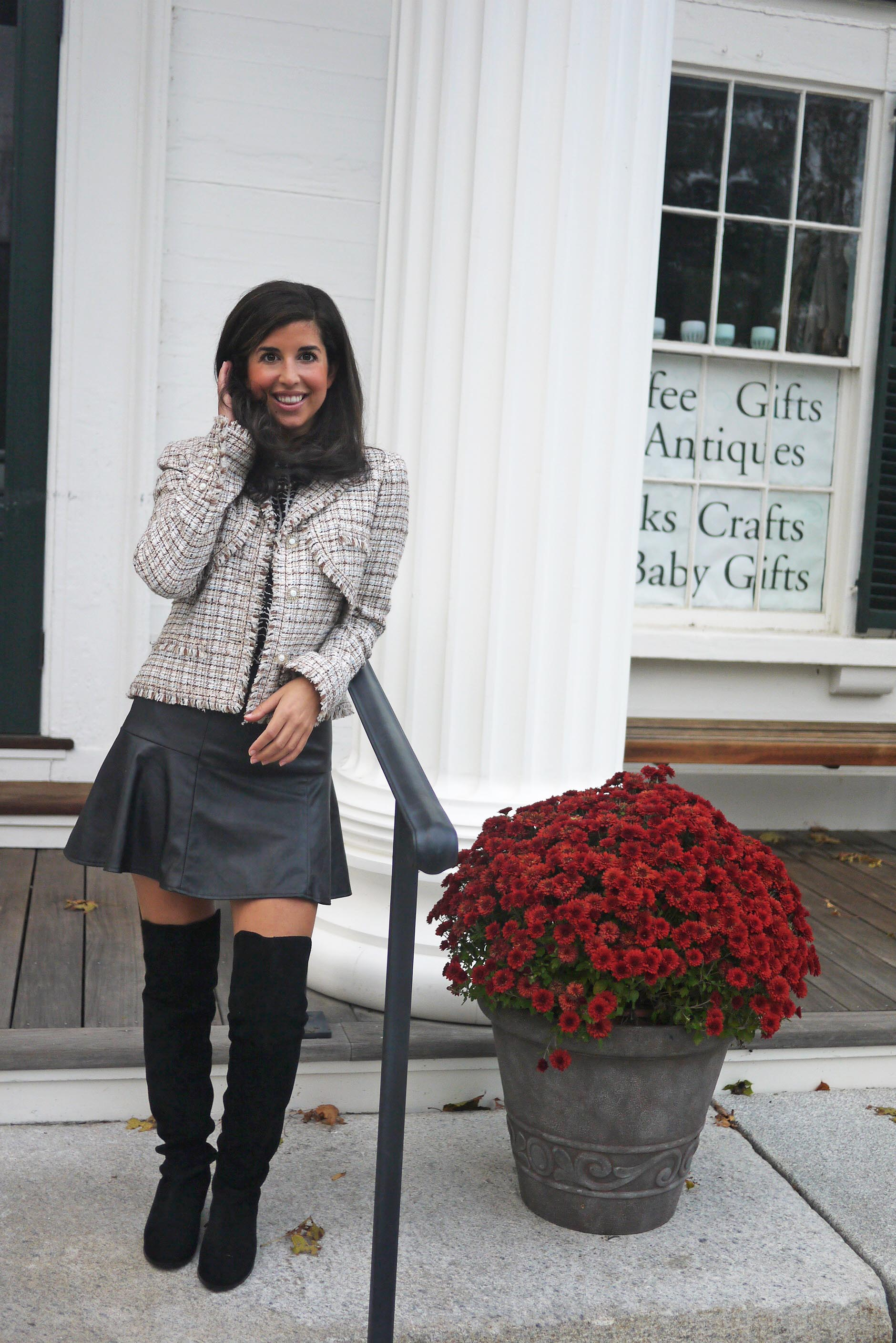 Modern Way To Wear Chanel Or Any Tweed Jacket The