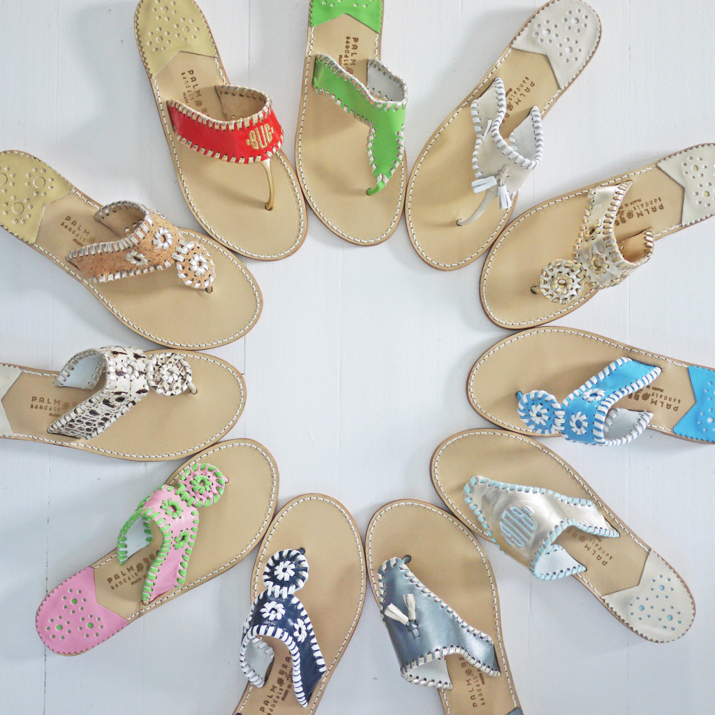 Custom Palm Beach Sandals Create Your Own at Buggy Designs