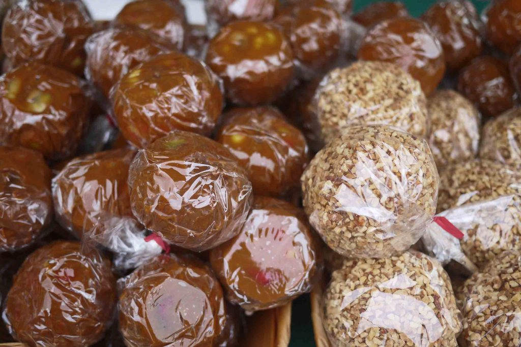 candy apples from wilson farm