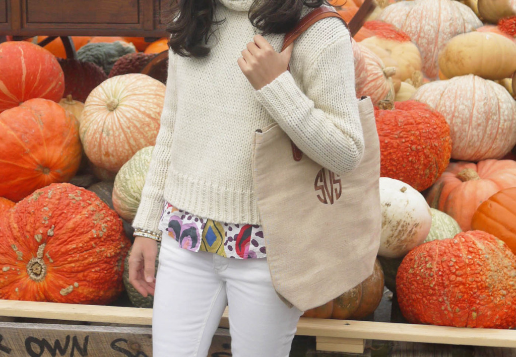 Wilson Farm Best Cider Donuts and Monogram Bag