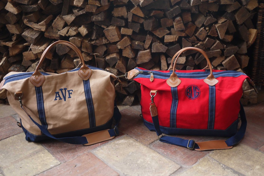 Monogram Weekender Travel Bag