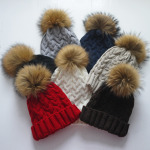 affordable fur pompom hats by buggy designs